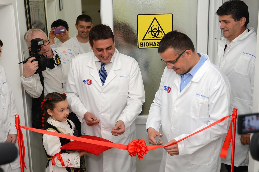 Otvaranje laboratorije